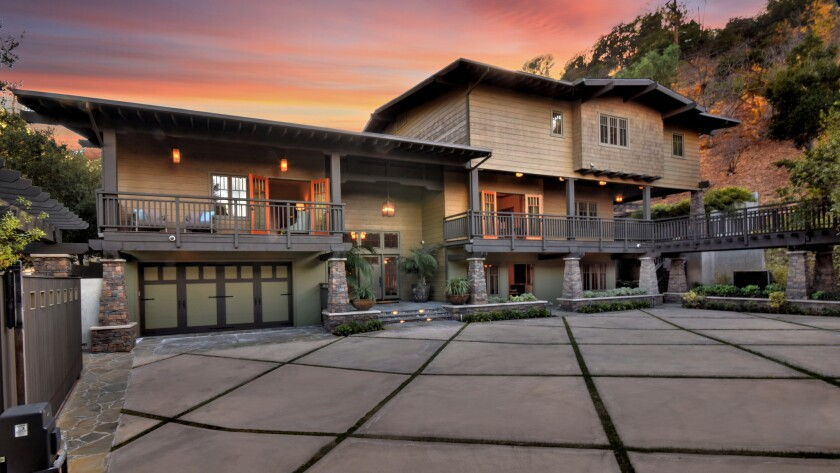 Zack Greinke's Studio City compound   Hot Property