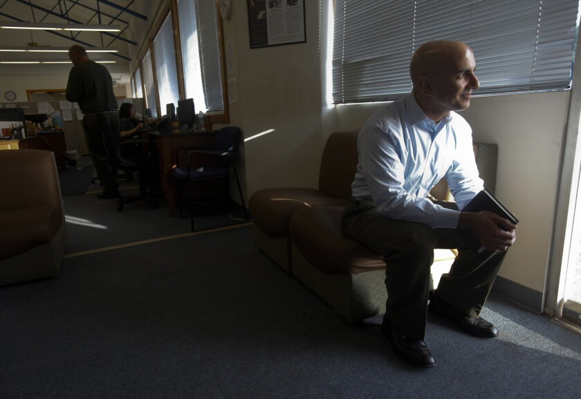 """I looked around and didn't see a deep bench of Republicans in California ready to lead that fight - so I asked, 'why not me?'"" Neel Kashkari wrote."