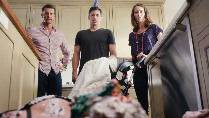 """Scott Foley, James Carpinello and Amy Acker star in the movie """"Let's Kill Ward's Wife."""""""