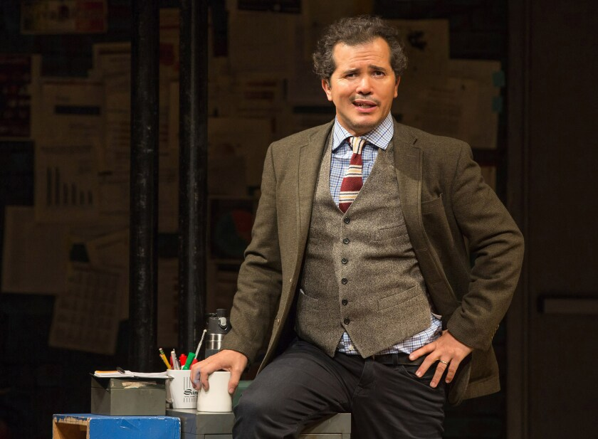 "John Leguizamo in ""Latin History for Morons."" Written and performed by Leguizamo and directed by Tony Taccone, ""Latin History for Morons"" is part of Center Theatre Group's 2019-2020 season at the Ahmanson Theatre."