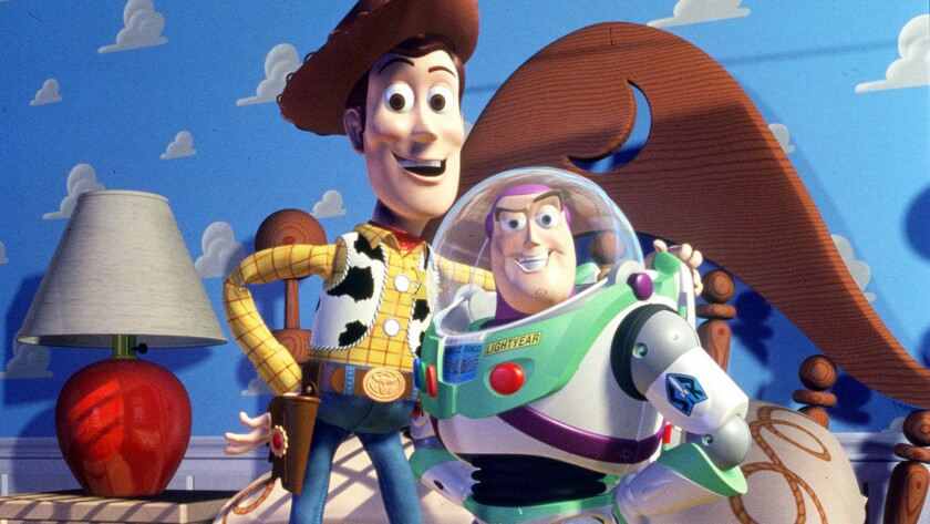 """A scene from Walt Disney Pictures' """"Toy Story."""""""