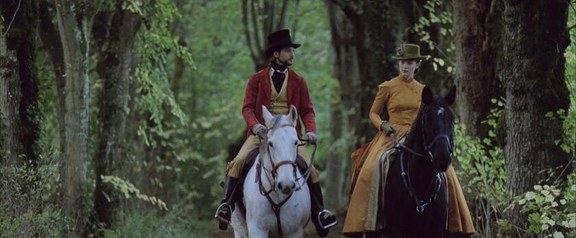 "Logan Marshall-Green and Mia Wasikowska in ""Madame Bovary."""