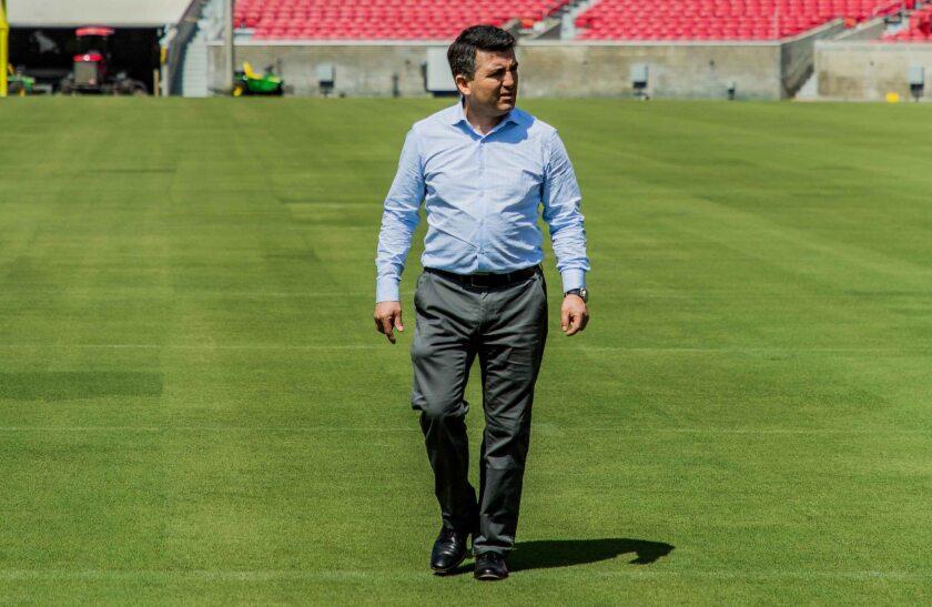Patricio Jerez Nova, jefe de logística de la Federación de Futbol de Chile