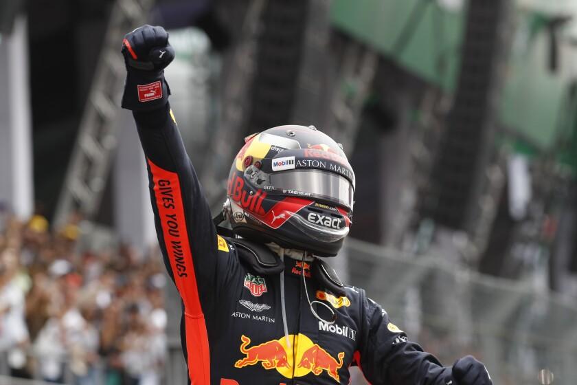 F1 Mexican GP Taming the Bulls Auto Racing