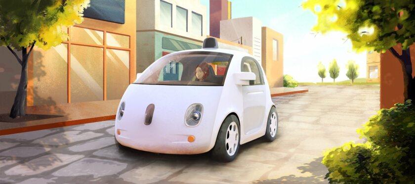 Google's new self driving car