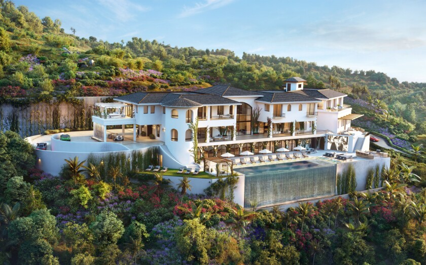 Spec house in Bel Air
