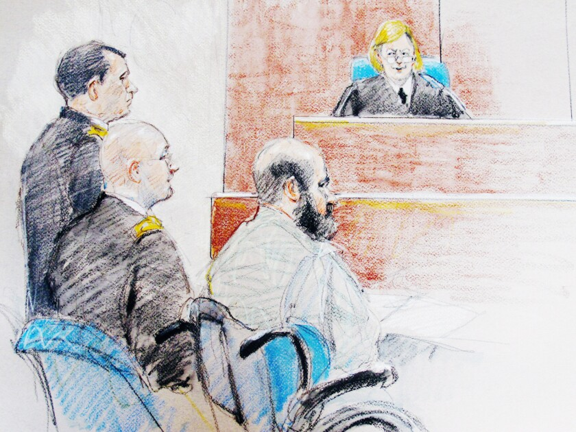 Judge rejects accused Ft. Hood shooter's new defense strategy