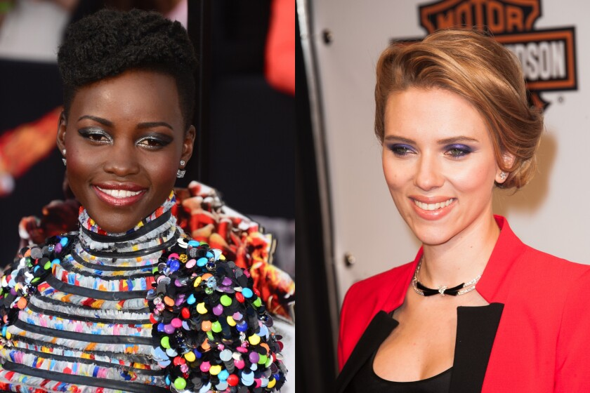 """Lupita Nyong'o and Scarlett Johansson are reportedly in talks to star in Disney's """"The Jungle Book."""""""