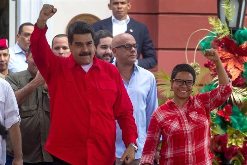 """La Organización de Venezolanos Perseguidos Políticos en el Exilio (Veppex) calificó hoy de """"chantaje"""" la decisión del Gobierno de Venezuela de condicionar las elecciones presidenciales al fin de la sanciones económicas impuestas al Ejecutivo de Nicolás Maduro. EFE/ARCHIVO"""