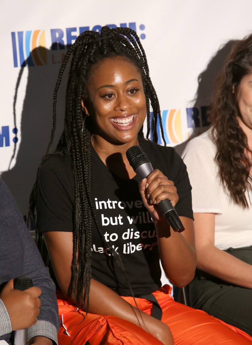 Zuri Adele attends Reform L.A. Jails Summit + Day Party: Mental Health Matters.
