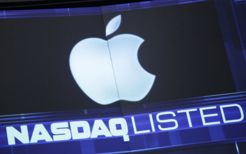 With a week to go before it reports earnings, Apple's stock price plunged amid fears of slowing sales.