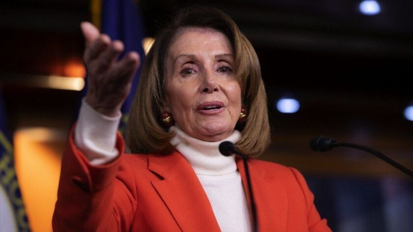 House Minority Leader Nancy Pelosi speaks Nov. 15 at a Capitol news conference.