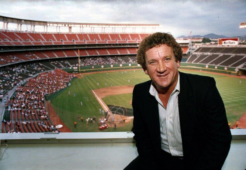1984 -- San Diego Padres Randy Jones at San Diego Jack Murphy Stadium. Photo: Don Kohlbauer/U-T San Diego file photo