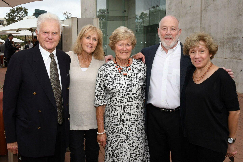 Roger and Joy Draper, Margaret Saunders, Jim and M.T. Schaeffer