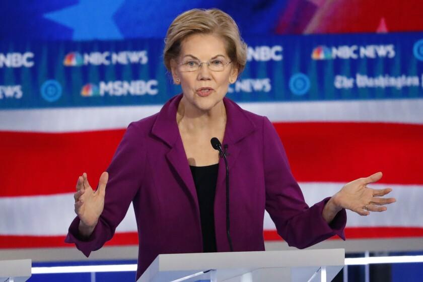 Election 2020 Elizabeth Warren Analysis