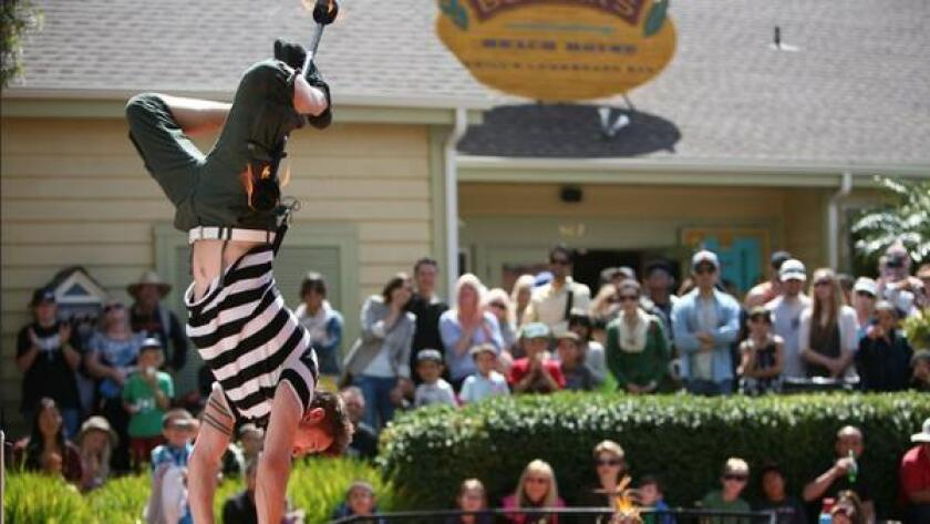 Head to Seaport Village to see the only Busker Festival in Southern California! Professionals from across the country are coming to town to perform their bizarre talents from knife throwing to pogo stick tricks and juggling on unicycles. Check out this two day event and shop, dine and enjoy the one-of-a-kind entertainment live. 12 p.m. to 6 p.m. 849 West Harbor Drive, downtown. Free for all ages. sandiego.org (seaportvillage.com)