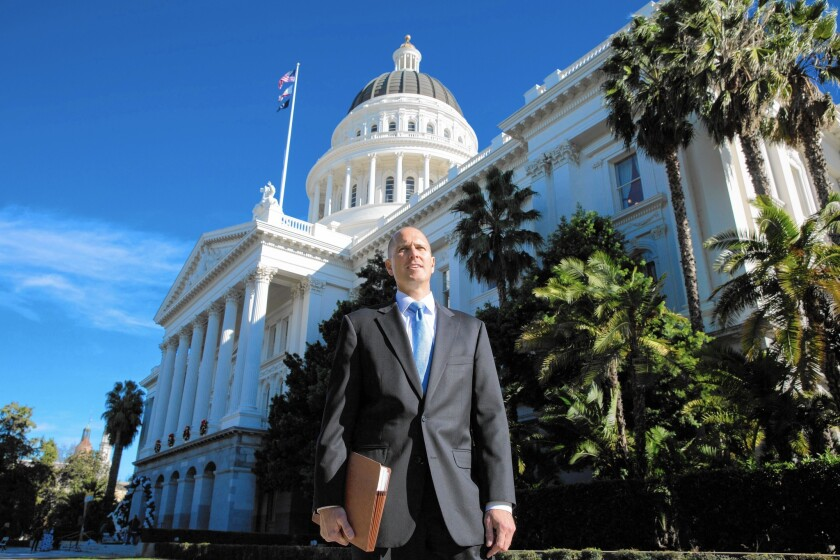 Frank Erb has been a fixture at the statehouse in Sacramento for years, holding weekly Bible study sessions that he hopes will deliver legislators from temptation.