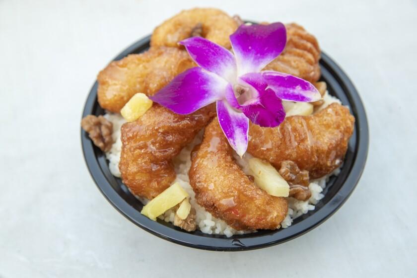 """Honey Walnut """"Shrimp"""" from SreyVegan"""