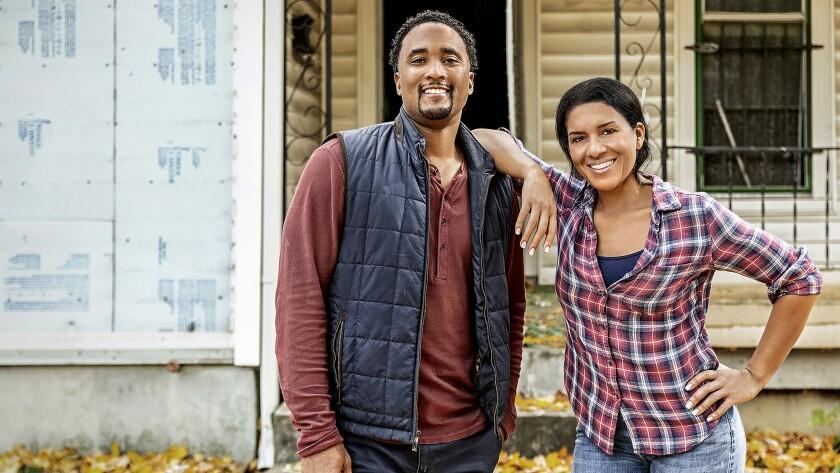 """Page Turner and DeRon Jenkins transform dilapidated Nashville homes into stunners on HGTV's """"Flip or Flop Nashville."""""""