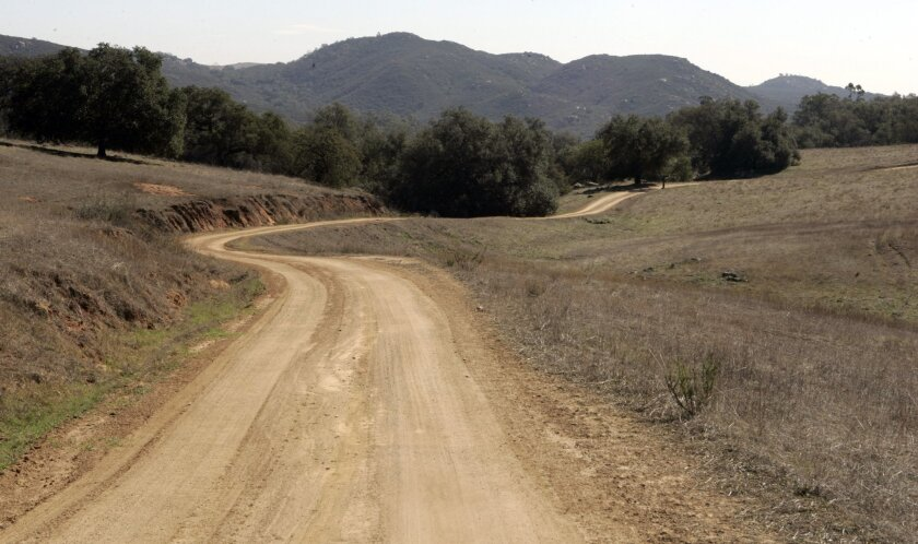 In preliminary talks, the owners of Rancho Guejito northeast of Escondido have offered to preserve 16,000 acres of the 22,000-acre property.  2006 file / Union-Tribune