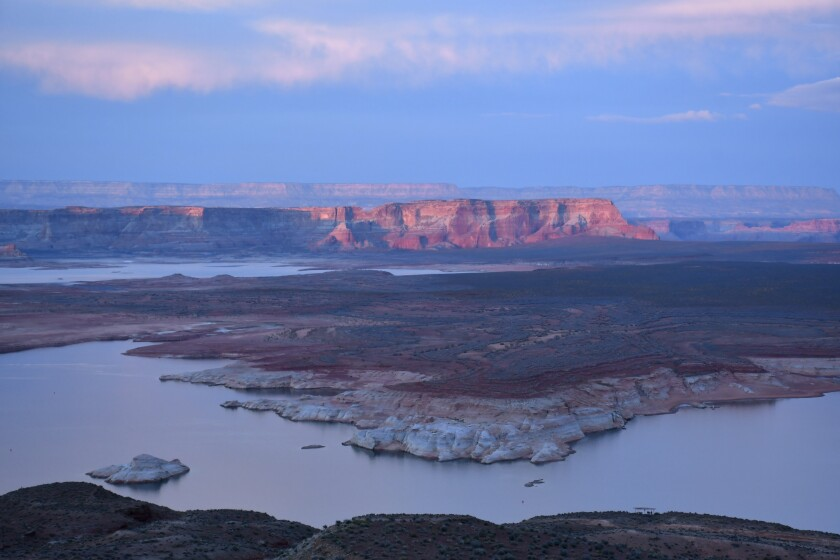 The view from Wahweap Overlook, Lake Powell, Ariz.