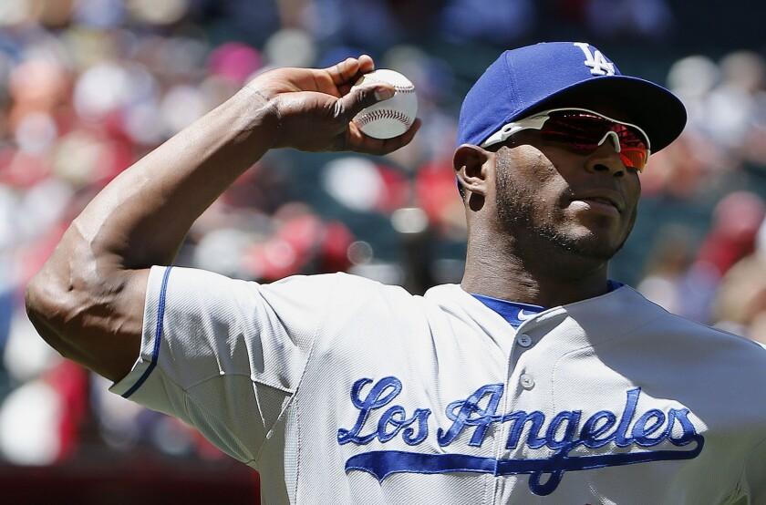 Yasiel Puig, de los Dodgers.