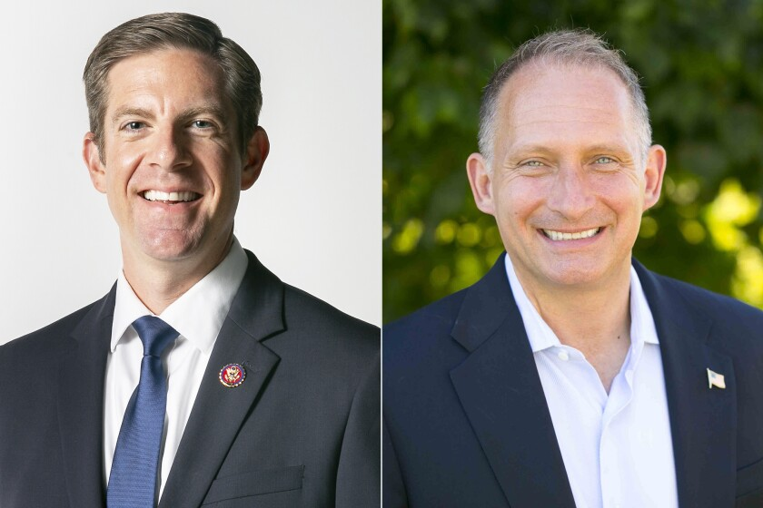 Candidates for the 49th Congressional District are incumbent Rep. Mike Levin and Brian Maryott