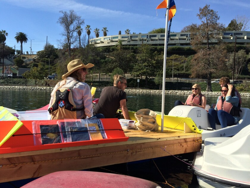 At the Floating Library