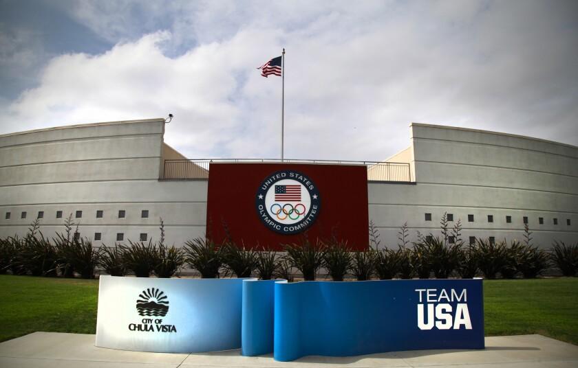 The Chula Vista, U.S. Olympic Training Center.
