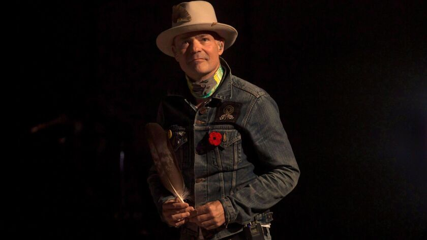 Gord Downie, shown in Toronto in 2016, has died at 53.