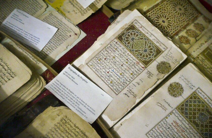 Fate of Timbuktu manuscripts uncertain as library burns