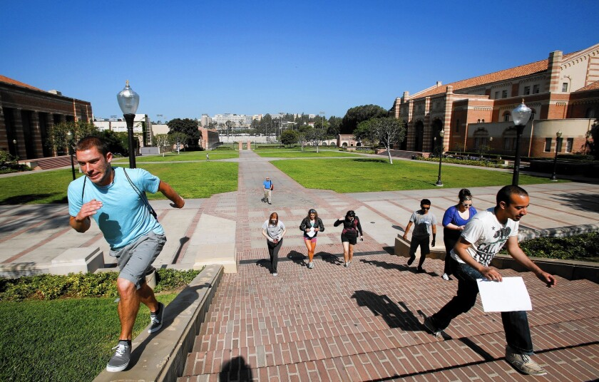 "Leaders at the University of California are proposing what they call a ""worst-case scenario"" plan for raising tuition for students systemwide over the next five years."
