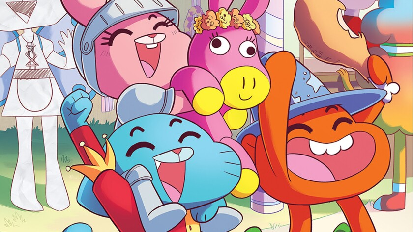 'The Amazing World of Gumball' cover