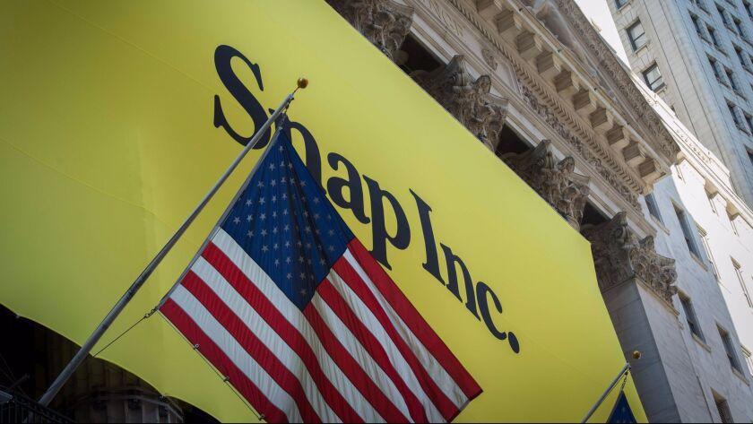 US-FINANCE-NYSE-SNAP INC.