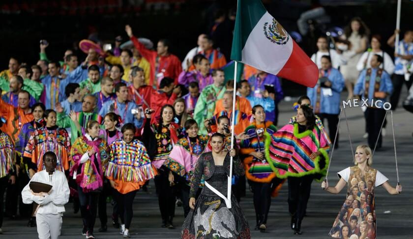 Imagen de archivo de la delegación olímpica mexicana.