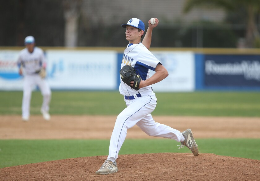 Photo Gallery: Newport Harbor vs. Fountain Valley in baseball