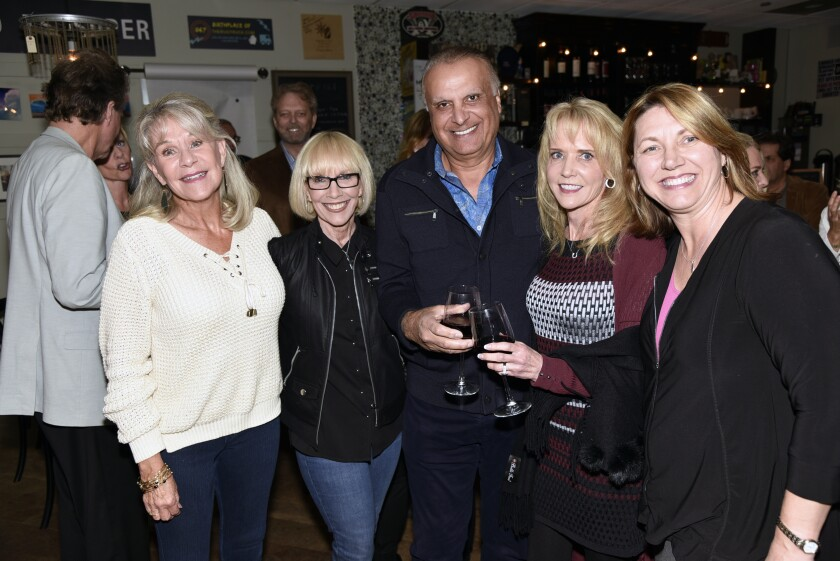 Robin Chappelow, Assistant Rotary Governor Susan Callahan, RSF Rotary President Eli Feghali, Lori Feghali, Paulette Britton
