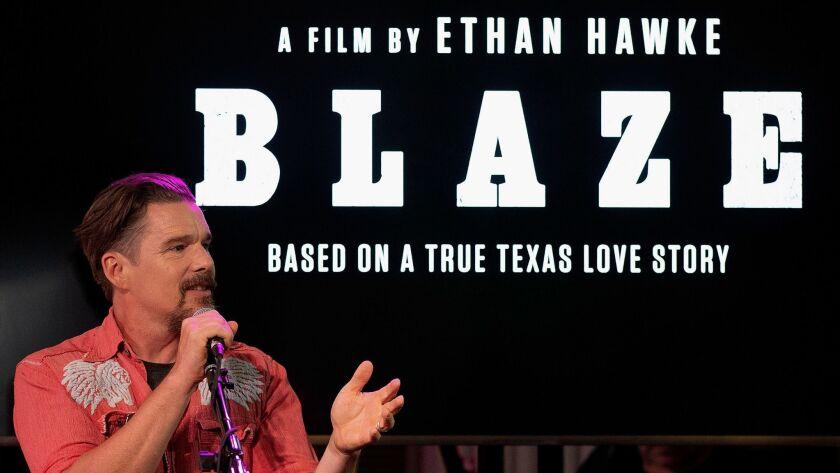 "Sundance Selects Presents Ethan Hawke's ""BLAZE"""