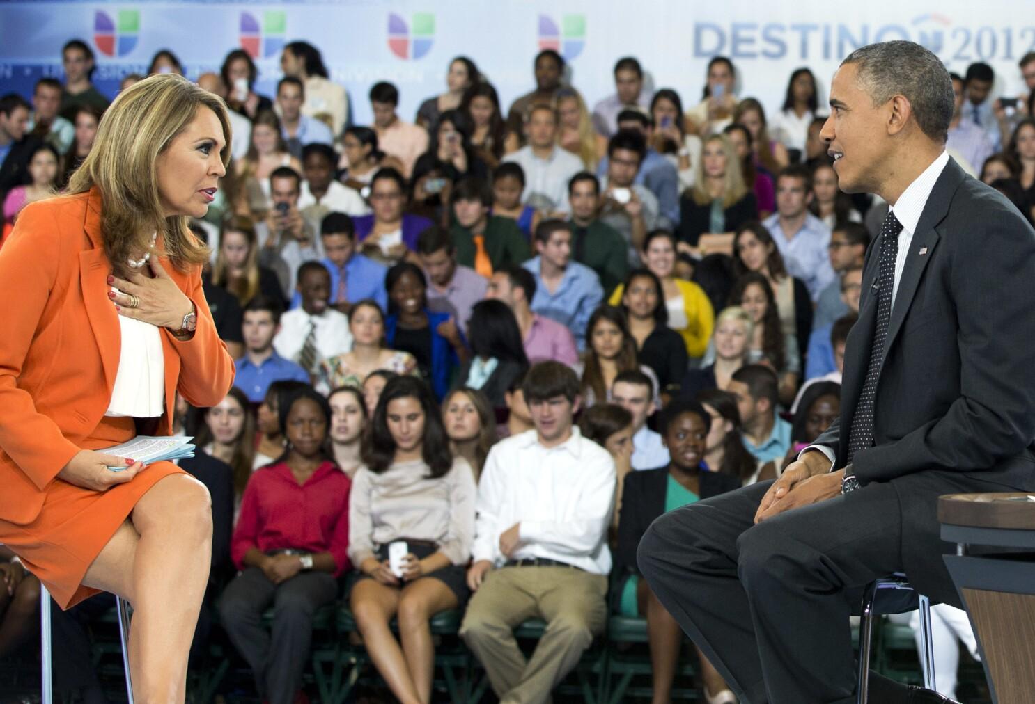 Maria Elena Salinas joins CBS News