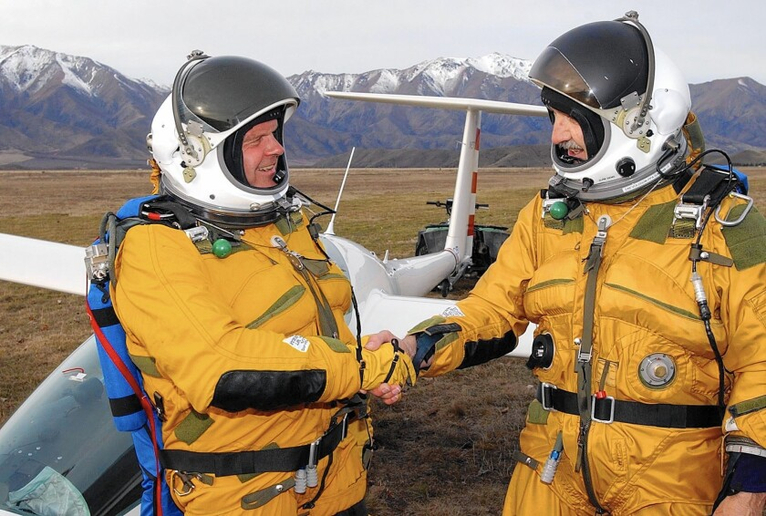 Cutting Edge: Pilot is building a glider to ride winds to the stratosphere — with no engine