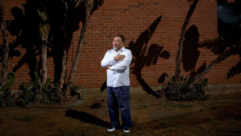 """Chinese artist Ai Weiwei's new film is """"Human Flow."""""""
