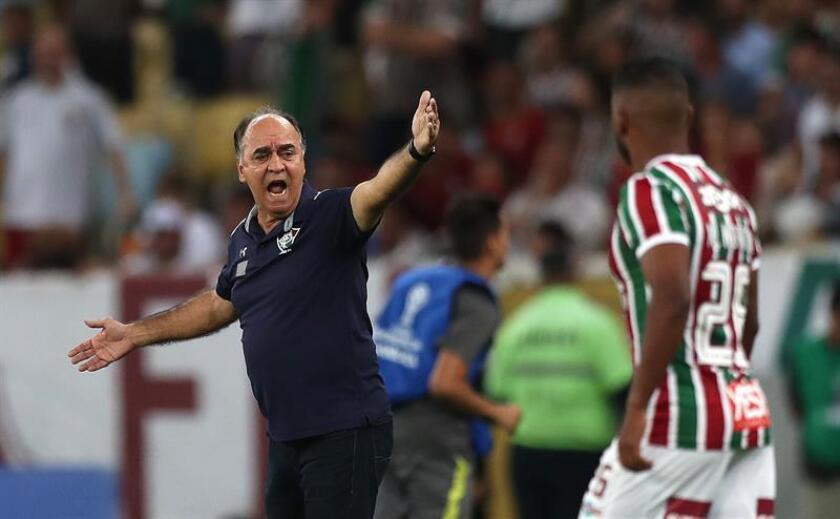 Imagend e archivo del entrenador de Fluminense Marcelo Oliveira. EFE/Archivo