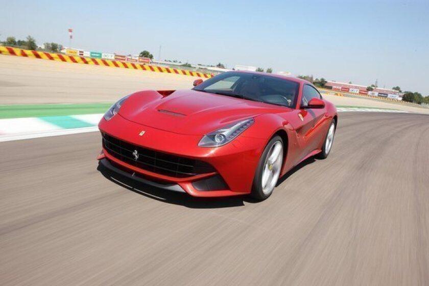 Ferrari's F12berlinetta