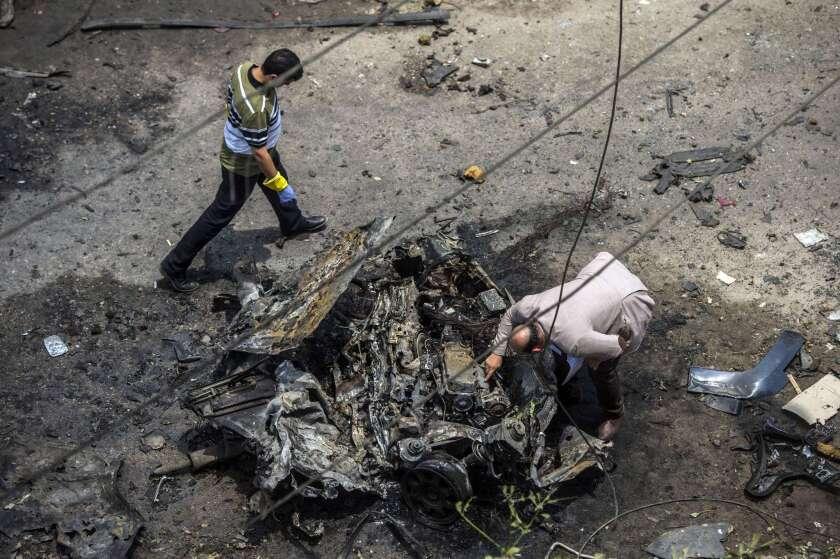 Bomb targets Egyptian state prosecutor