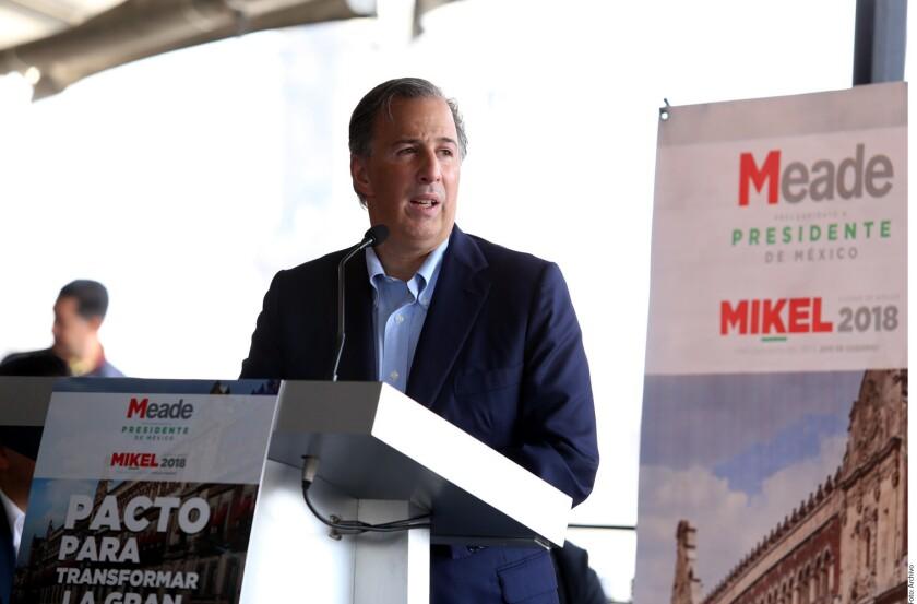 El candidato presidencial del PRI, José Antonio Meade, tuvo responsabilidad directa en presuntos desvíos de cerca de 500 millones de pesos de la Secretaría de Desarrollo Social (Sedesol) entre 2015 y 2016, denunció la coalición Por México al Frente.