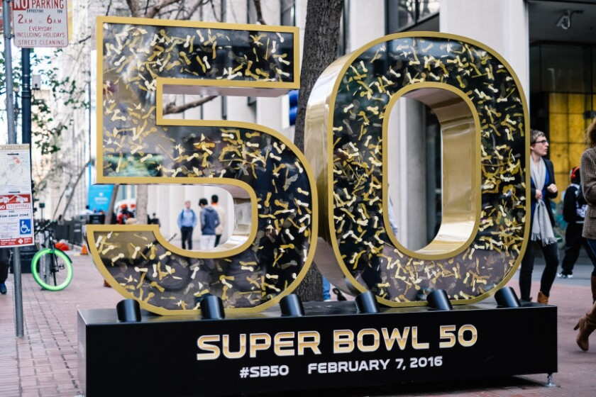 Carolina Panthers y Denver Broncos chocan este domingo 7 de febrero en Santa Clara en el Super Bowl 50. Getty