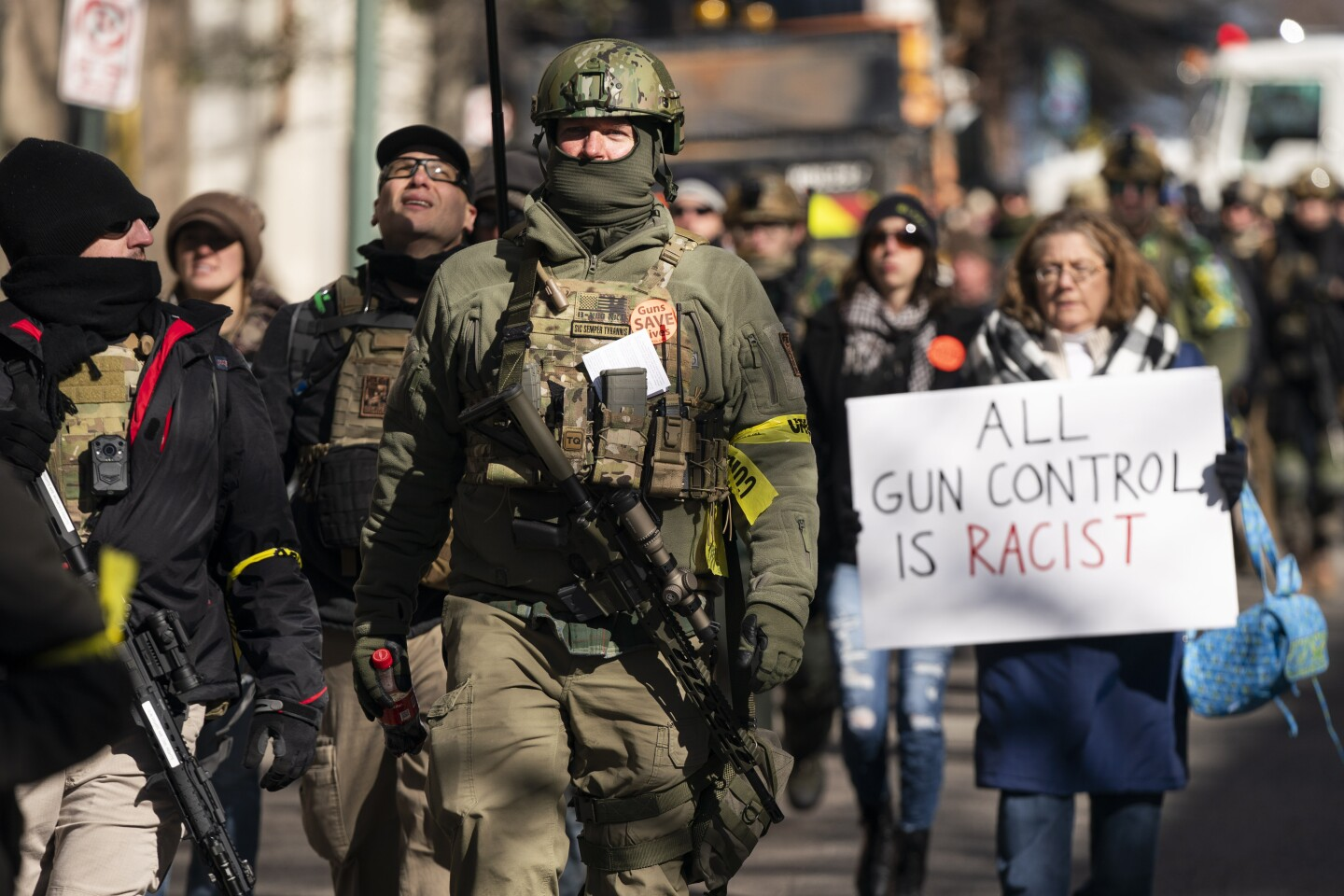 Gun rights rally in Richmond, Virginia, USA - 20 Jan 2020