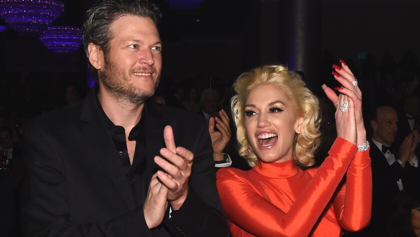 Blake Shelton and Gwen Stefani are an item, in case you hadn't heard.