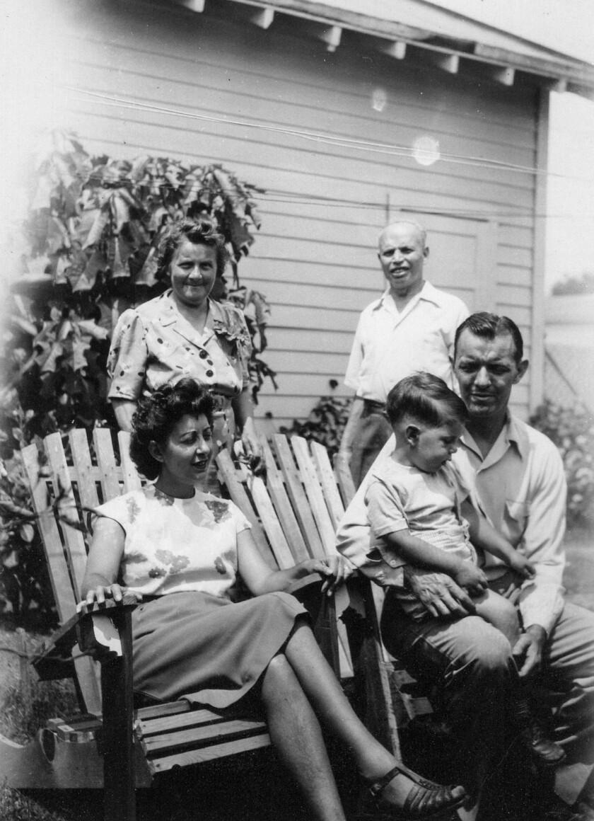 Benson family photo