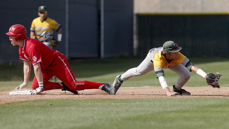 Photo Gallery: Edison vs. Los Alamitos in baseball